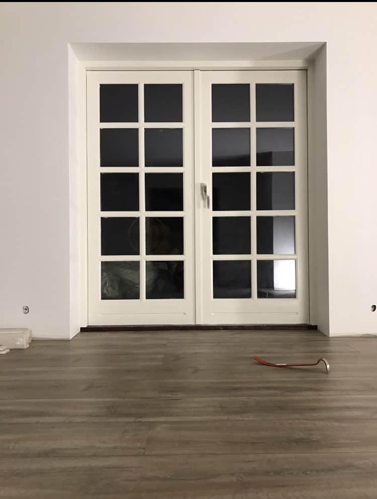Ny dør til altan